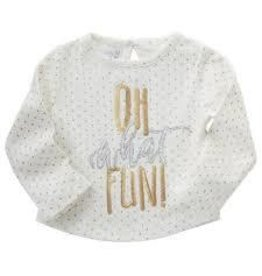 Mud Pie Oh What Fun Dazzle Shirt