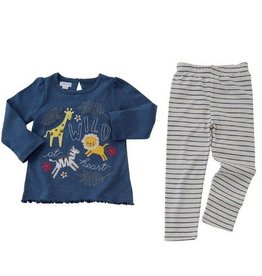 Mud Pie Wild Heart Tunic Legging Set