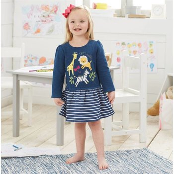Mud Pie Go Wild Sweatshirt Dress