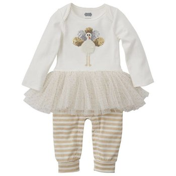 Mud Pie Turkey Tutu One Piece