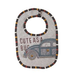 Mud Pie Cute as a Bug Bib