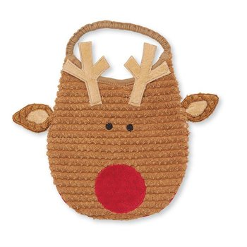 Mud Pie Reindeer Bib