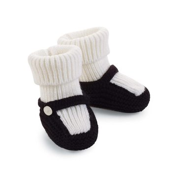 Mud Pie Mary Jane Socks-Blk