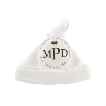 Mud Pie Pink Monogram Me Cap