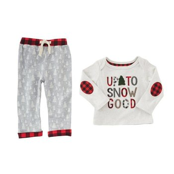 Mud Pie Up to Snow Good Pant Set
