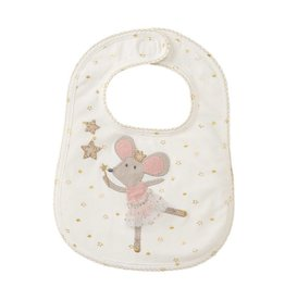 Mud Pie Twinkle Mouse Bib