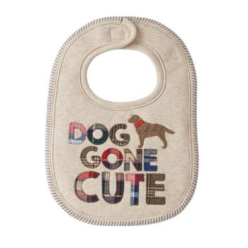 Mud Pie Dog Gone Cute Bib