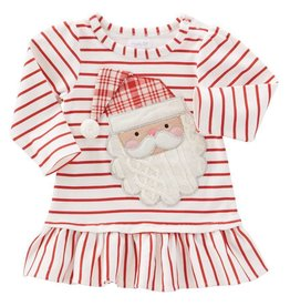 Mud Pie Red Stripe Santa Dress