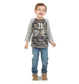 Mud Pie Wild One Camo T-Shirt