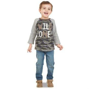 Mud Pie Wild One Camo Sweatshirt