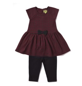 Kapital K Houndstooth Tunic And Legging Set