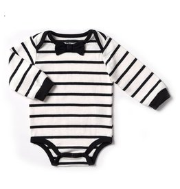 Kapital K Vanilla Stripe bodysuit with Bowtie