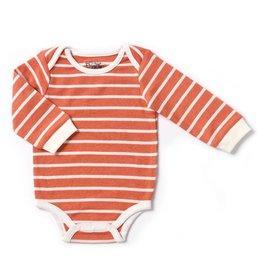 Kapital K Pumpkin Stripe Thermal Bodysuit