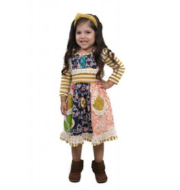 Mustard Pie Scrappy Ramona Dress