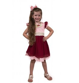 Evie's Closet Cranberry Princess Dress
