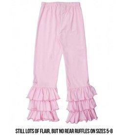 RuffleButts Everyday Pink Ruffle Pants