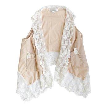 Bailey's Blossom Lace Drape Cardigan