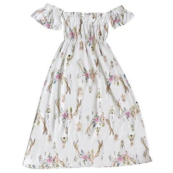 Bailey's Blossom Teepee Skull Cold Shoulder Dress