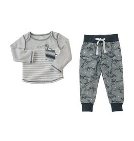 Mud Pie Dinosaur Pant Set