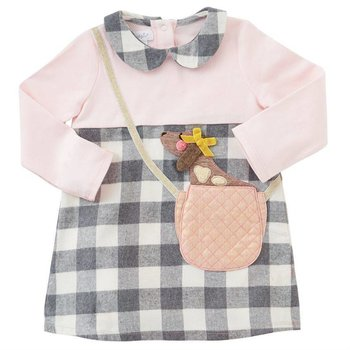 Mud Pie Puppy Purse Dress
