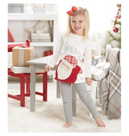 Mud Pie Santa Tunic Leggings Set