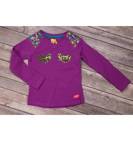 Kidz Art Purple Winky Shirt