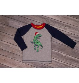 CR Sports Raglan  T-Rex Shirt
