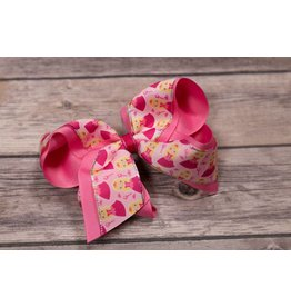 Wee Ones King Princess Double Ribbon Bow