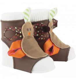 Baby Deer Turkey Themed Peep Toes NB-12M