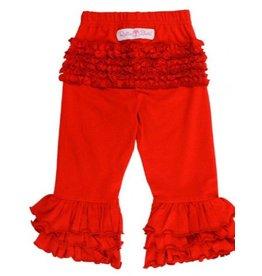 RuffleButts Red Everyday Ruffle Pants