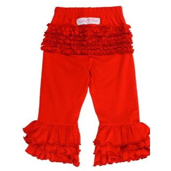 Ruffle Butts Red Everyday Ruffle Pants