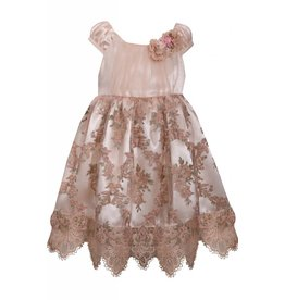 Bonnie Jean French Rose Dress