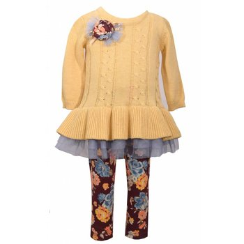 Bonnie Baby Golden Rod 2Piece Set
