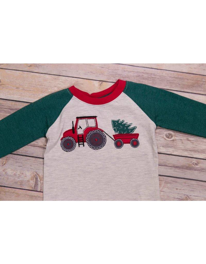 CR Sports Christmas Tractor Tee