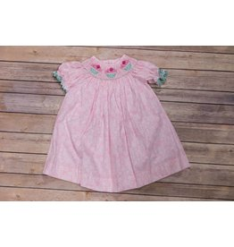 Closet Nine Cupcake Smocked Bishop Dress