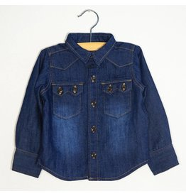 Bit'z Kids Dark Wash Denim Button Up