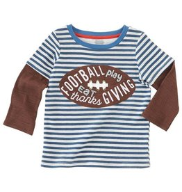 Mud Pie Game Time Layered Shirt