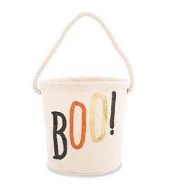 Mud Pie Boo Halloween Candy Bag
