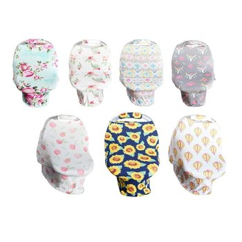 Bailey's Blossom Girls Car Seat Canopy and Handle Set