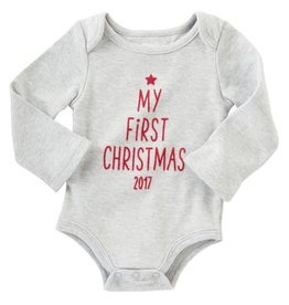 Mud Pie My First Christmas Onesie