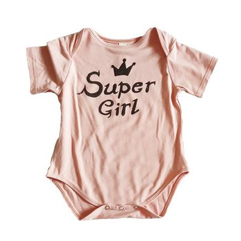 Earth Baby Outfitters Super Girl Onesie