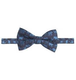 Andy&Evan Forest Animal Navy Bow Tie