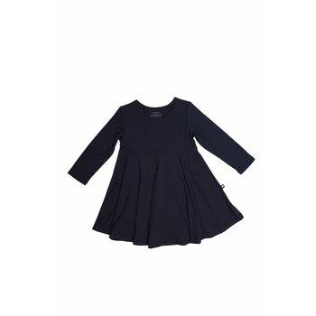 Sweet Bamboo Black Swirly Girl Dress