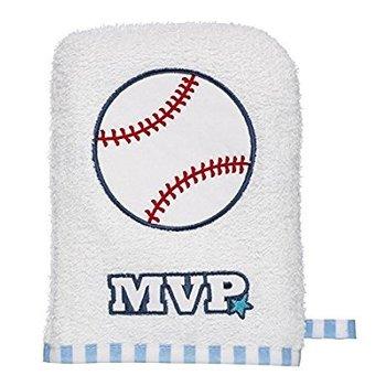 MVP Baseball Bath Mit
