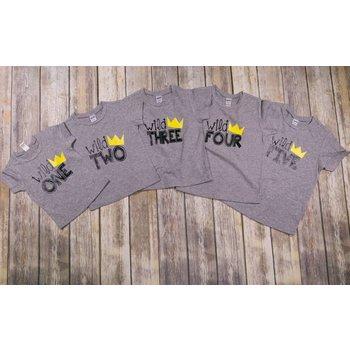Jujubee Bowtique Wild Birthday Shirt