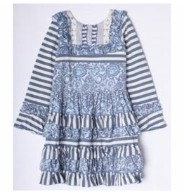 Isobella & Chloe Bonnie Blue Dress