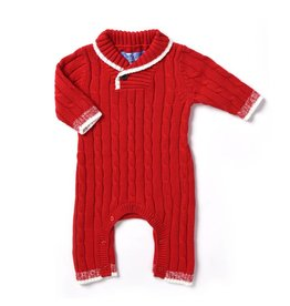 Kapital K Cran N' Berry Cable Knit Sweater Coverall