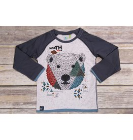 Noruk North Fractal Bear Shirt