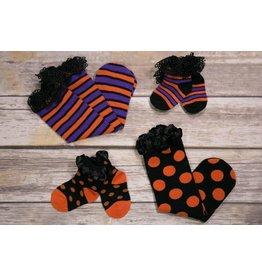 Ganz Halloween Ruffle Socks