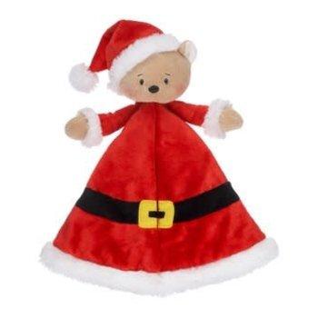 Baby Ganz Santa Bear Security Blanket